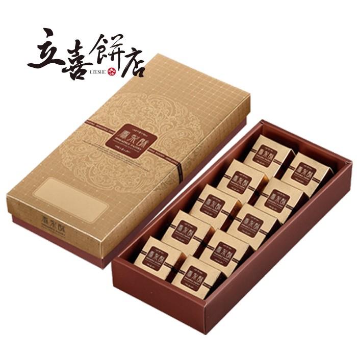 【立喜餅店】 F01 金鑽鳳梨酥 10入 (美安特價款)