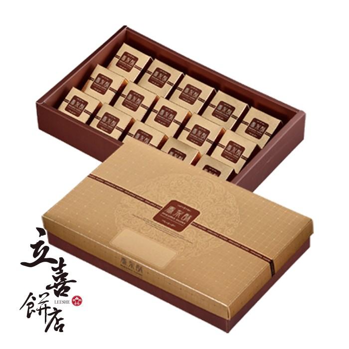 【立喜餅店】 F02 金鑽鳳梨酥 15入 (美安特價款)