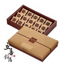 【立喜餅店】 F06 金鑽鳳凰酥 15入 (美安特價款)