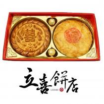 【立喜餅店】M37龍鳳對餅喜餅禮盒/6盒起訂