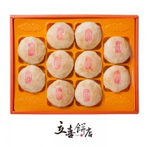 【立喜餅店】B03 金牌綠豆椪(香菇素餅)  10入