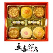 【立喜餅店】M38富貴喜餅禮盒/6盒起訂