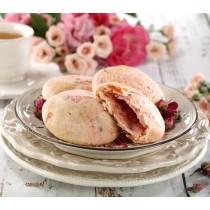 【立喜餅店】Q02 玫瑰太陽餅6入(台中花博餅)台中市政府指定花博店家